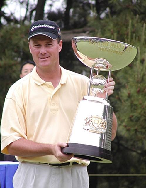 2003年 ダイヤモンドカップトーナメント 最終日 トッド・ハミルトン 7つのバーディで逆転今季2勝のT.ハミルトン