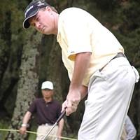ドライバーを捨て、アイアン勝負が功を奏した 2003年 ダイヤモンドカップトーナメント 最終日 トッド・ハミルトン