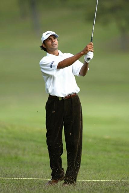 2003年 JCBクラシック仙台 初日 ジョティ・ランダワ J.ランダワがアジアナンバーワンの実力を発揮