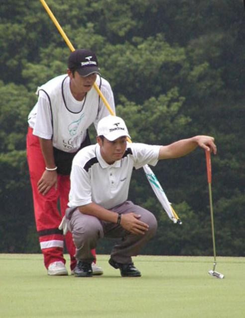 2003年 マンダムルシードよみうりオープンゴルフトーナメント 最終日 谷原秀人 谷原は最後まで落ち着いたプレーを続けた