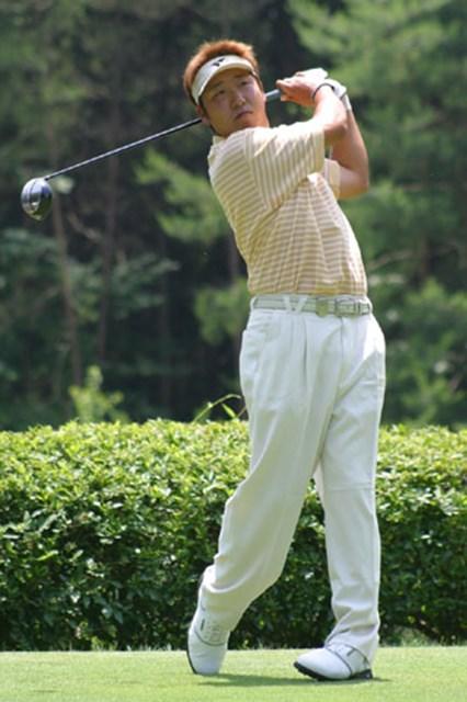 2003年 日本ゴルフツアー選手権 3日目 高山忠洋 高山忠洋も伊沢と同じく、連続バーディでスタートした