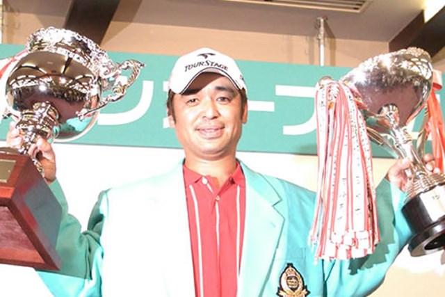 2003年 ウッドワンオープン広島ゴルフトーナメント 最終日 伊沢利光 2週連続優勝!伊沢の完全復活だ
