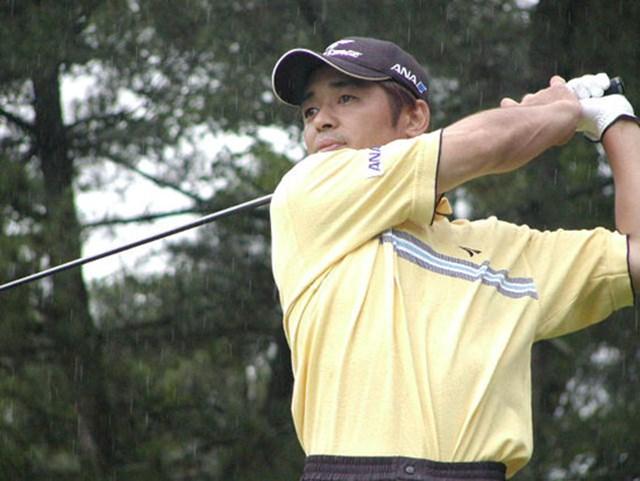 2003年 ウッドワンオープン広島ゴルフトーナメント 最終日 伊沢利光 最終日は落ち着いてパーセーブを繰り返した