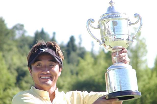 2003年 サトウ食品NST新潟オープンゴルフ選手権競技 最終日 宮本勝昌 昨年の借りは返した!ツアー5勝目を挙げた宮本勝昌