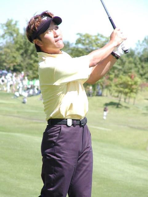 2003年 サトウ食品NST新潟オープンゴルフ選手権競技 最終日 宮本勝昌 最終日に6ストローク伸ばし、見事逆転優勝を決めた!