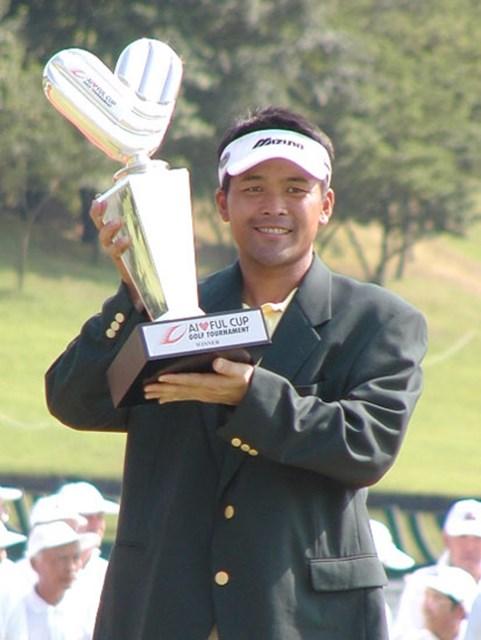 2003年 アイフルカップゴルフトーナメント 最終日 手嶋多一 3度目の正直!ついに手嶋多一がシーズン1勝目!