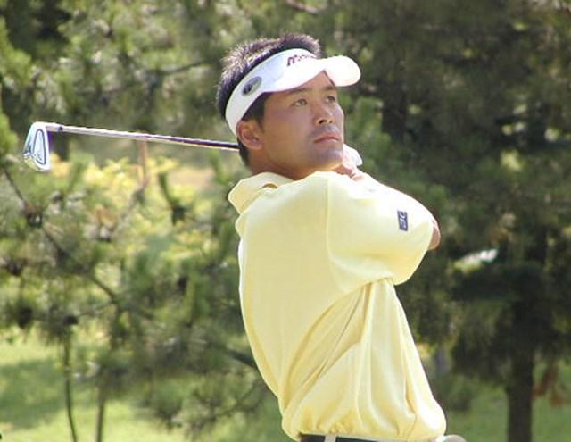 2003年 アイフルカップゴルフトーナメント 最終日 手嶋多一 キレの良いアイアンでバーディを積み重ねた