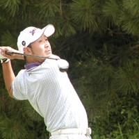 最後まで自信に満ちたプレーぶりが印象的だった 2003年 久光製薬KBCオーガスタゴルフトーナメント 最終日 田島創志
