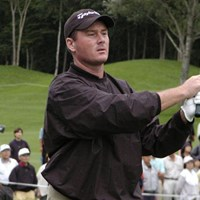 終始安定したプレーで108ホールを戦い抜いた 2003年 日本プロゴルフマッチプレー選手権 最終日 トッド・ハミルトン