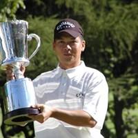 ピンチを乗り越え、台湾の葉が、最後の最後にロングパットで優勝を決めた 2003年 ANAオープンゴルフトーナメント 最終日 葉偉志
