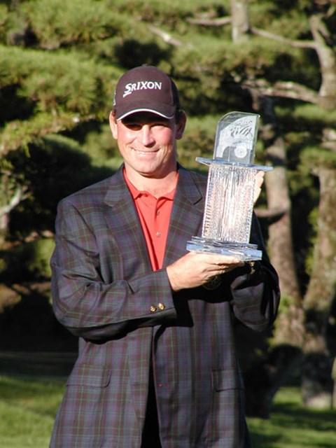 2003年 ダンロップフェニックストーナメント 最終日 トーマス・ビヨーン 1999年に続き大会2勝目をマークしたT.ビヨーン