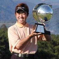 2位に7打差の圧勝で初優勝を決めた今井克宗 2003年 カシオワールドオープンゴルフトーナメント 最終日 今井克宗