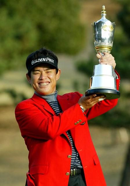 2003年 ゴルフ日本シリーズJTカップ 最終日 平塚哲二 平塚哲二が悲願のツアー初勝利!