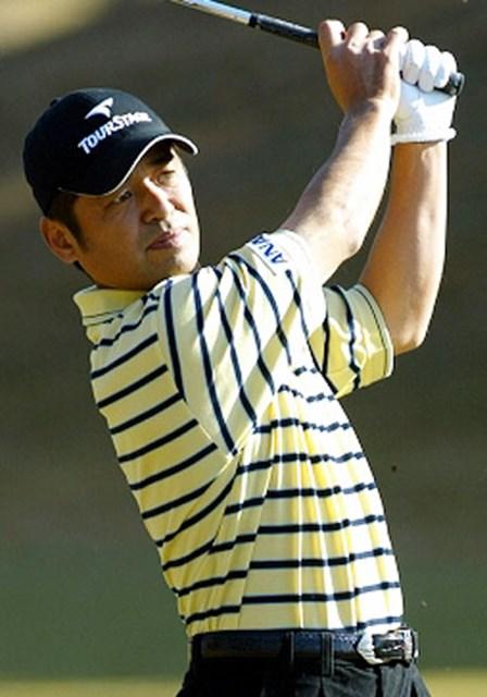 2003年 ゴルフ日本シリーズJTカップ 最終日 伊沢利光 2年ぶり2回目の賞金王に輝いた伊沢利光