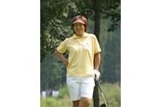 2003年 日本女子プロゴルフ選手権大会コニカミノルタ杯 初日 大場美智恵