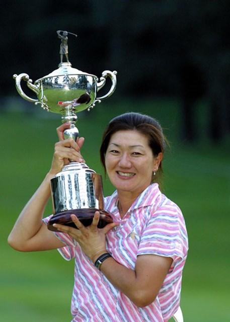 2003年 日本女子オープンゴルフ選手権競技 最終日 服部道子 終盤崩れながらもプレーオフで勝利をもぎ取った服部