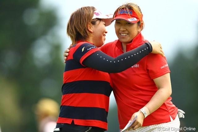 2012年 CAT Ladies 初日 福嶋晃子 2年前のチャンピオンも首位発進。やっぱり得意なコースなんですね。