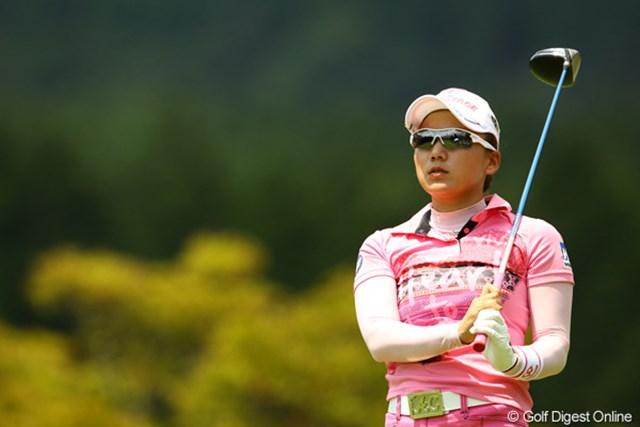 今日の智恵ちゃんは、どうしちゃったんでしょうねぇ・・・。ディフェンディングチャンピオンは、64位タイと大きく出遅れました。