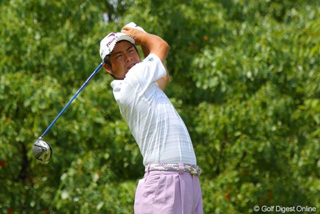 自己ベストタイの「62」をマークし、2位タイに急浮上!優勝争いに名乗りを挙げた池田勇太
