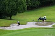 2012年 関西オープンゴルフ選手権競技 3日目 コース修復