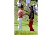 2012年 関西オープンゴルフ選手権競技 最終日 薗田峻輔&キム・ヒョンソン