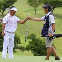 武藤俊憲の失速で、一時はもしや・・・と思ったのですが 2012年 関西オープンゴルフ選手権競技 最終日 篠崎紀夫