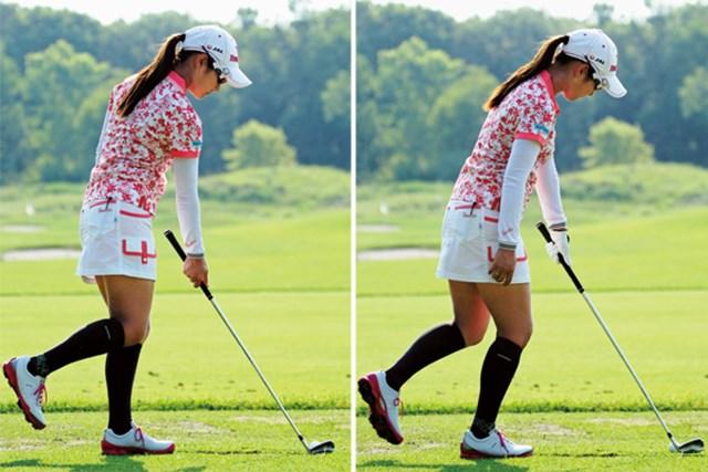 左足&右手1本、右足&左手1本。それぞれに効果は絶大だが、簡単ではない。アマチュアも挑戦してみては?