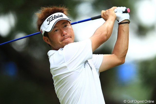 2012年 VanaH杯KBCオーガスタゴルフトーナメント 2日目 松村道央 静かに上位進出を果たした松村道央。首位に3打差と好位置で予選を通過してきた