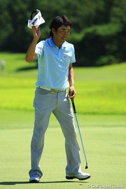 2012年 VanaH杯KBCオーガスタゴルフトーナメント 3日目 山下和宏 裏街道スタートからコンニチハ① 最終9番をイーグルで締めくくり66のラウンドで3位タイに急浮上です