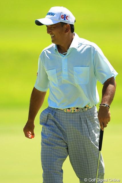 2012年 VanaH杯KBCオーガスタゴルフトーナメント 3日目 細川和彦 裏開度スタートからコンニチハ③ 元祖・夏男が帰って来ましたよ。やっぱり暑い芥屋が好きなんですかね?