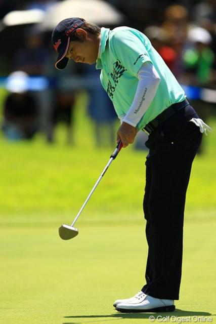 2012年 VanaH杯KBCオーガスタゴルフトーナメント 3日目 貞方章男 ノーボギーのゴルフで単独2位。明日は初優勝目指してがんばって欲しい!