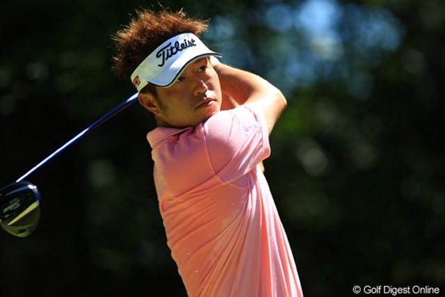 2012年 VanaH杯KBCオーガスタゴルフトーナメント 3日目 松村道央 新しいドライバーは合ってそうなんですけどねぇ。スコアを1つ落として、13位タイに後退