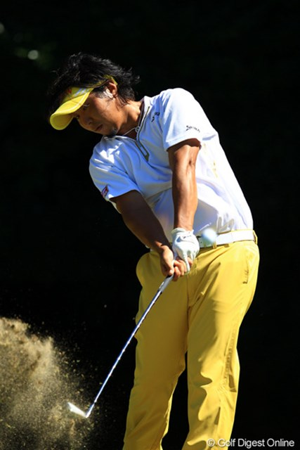 2012年 VanaH杯KBCオーガスタゴルフトーナメント 3日目 塚田陽亮 スコアを2つ落としてしまい、28位タイへ後退してしまいました