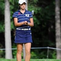 アマチュアの石川葉子は1打及ばず、初のツアー予選突破は叶わなかった 2012年 ニトリレディスゴルフトーナメント 2日目 石川葉子
