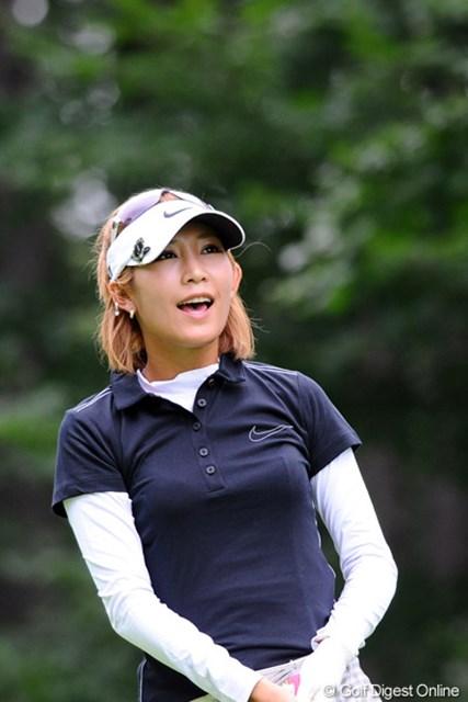 2012年 ニトリレディスゴルフトーナメント 2日目 金田久美子 マイナス思考からいよいよ卒業? 苦しい場面でもポジティブに!