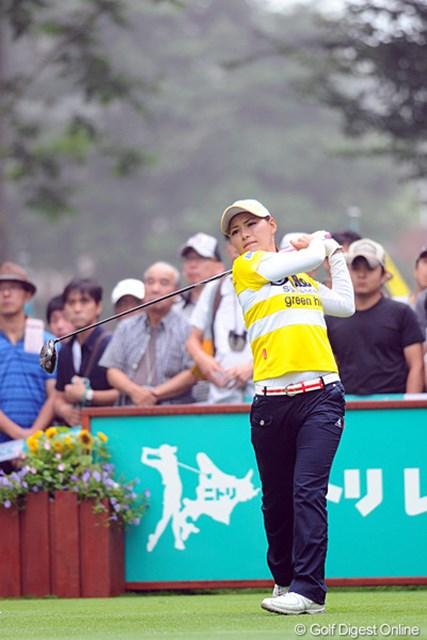 2012年 ニトリレディスゴルフトーナメント 最終日 横峯さくら 最終日に「68」をマークし14位タイに浮上。次週はスキップし、「日本女子プロ」に向けて調整を進める