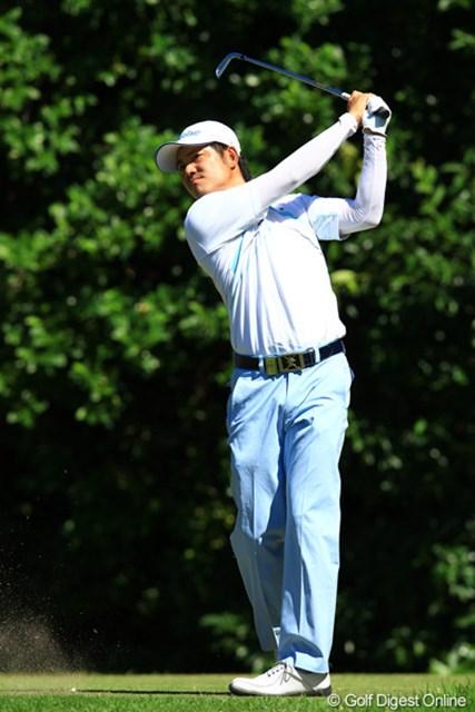 2012年 VanaH杯KBCオーガスタゴルフトーナメント 最終日 貞方章男 あと一歩足りず、単独2位フィニッシュ。惜しかった!これで来季のシード権復帰はほぼ間違いないでしょうね。