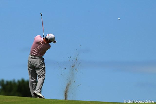 2012年 VanaH杯KBCオーガスタゴルフトーナメント 最終日 細川和彦 「夏男」には「夏空」が似合いますね。