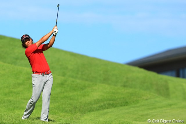 2012年 VanaH杯KBCオーガスタゴルフトーナメント 最終日 永野竜太郎 昨日に引き続きスコアを伸ばして、4位タイフィニッシュです。16番のダボが本当にもったいなかったです。