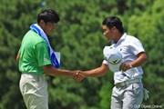 2012年 VanaH杯KBCオーガスタゴルフトーナメント 最終日 横尾要 宮里優作