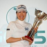 昨年大会を制し、嬉しいツアー初勝利を手にした中国のイエ・リーイン 2012年 ゴルフ5レディスプロゴルフトーナメント 事前情報 イエ・リーイン