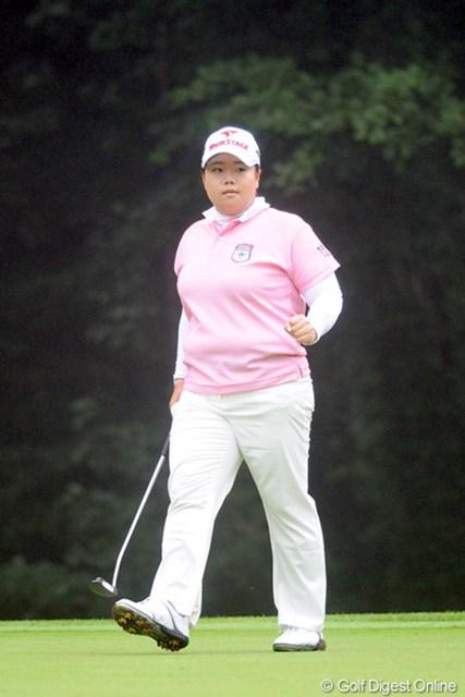 2012年 ニトリレディスゴルフトーナメント 最終日 アン・ソンジュ サンデーバックナインで後続を一気に突き放し、ツアー通算10勝目を飾ったアン・ソンジュ