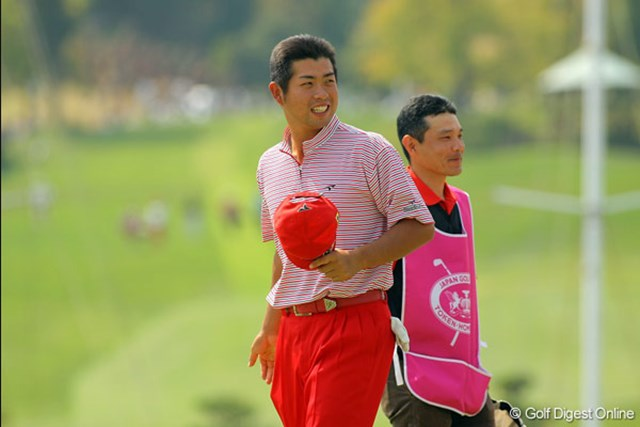 池田勇太 最終日にノーボギーの6アンダーをマークした池田勇太。初優勝もまもなくか!?