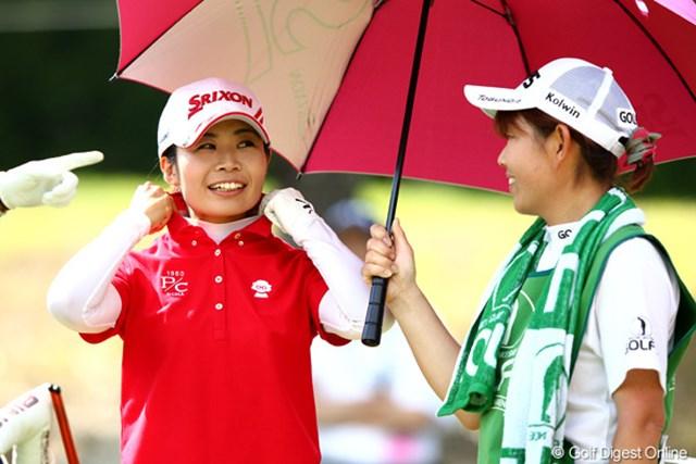 2012年 ゴルフ5レディスプロゴルフトーナメント 初日 永井奈都 5アンダー2位タイの好成績
