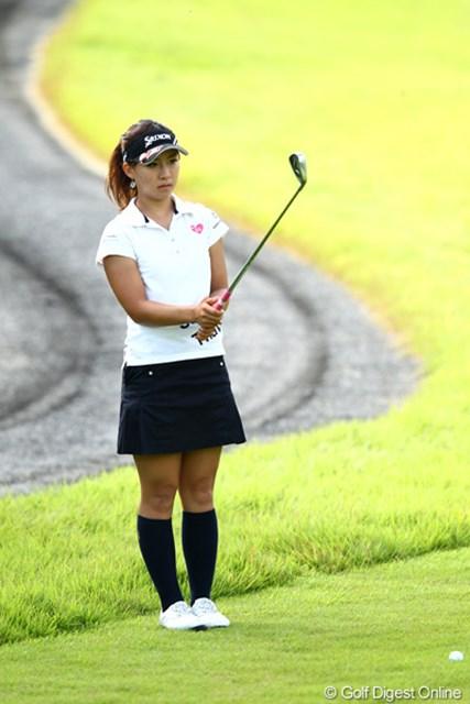 2012年 ゴルフ5レディスプロゴルフトーナメント 初日 香妻琴乃 初日好調のゴルフで一時トップタイまでスコアを伸ばすも・・・2アンダーフィニッシュ