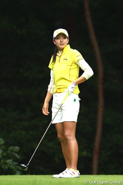 2012年 ゴルフ5レディスプロゴルフトーナメント 初日 高島早百合 好調のゴルフで3アンダー
