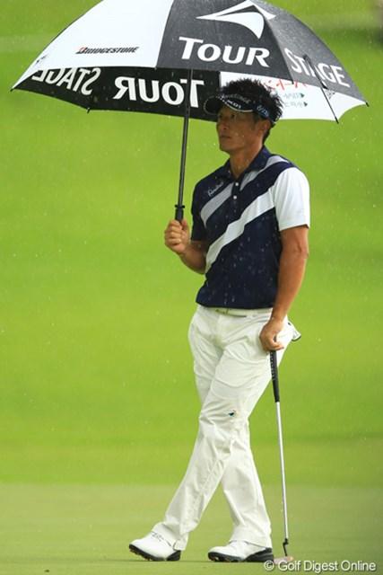 どうしたんだろう?今日の宮本さんは「大雨」でした。