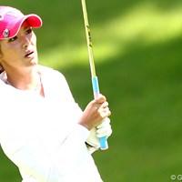 前回優勝からだいぶ遠ざかっていたような。久々の上位? 2012年 ゴルフ5レディスプロゴルフトーナメント 2日目 甲田良美
