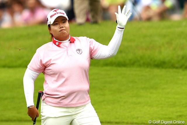 2012年 ゴルフ5レディスプロゴルフトーナメント 最終日 アン・ソンジュ バースデーウィークを貫禄の勝利で締めくくったアン・ソンジュ
