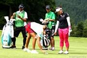 2012年 ゴルフ5レディスプロゴルフトーナメント 最終日 有村智恵&木戸愛